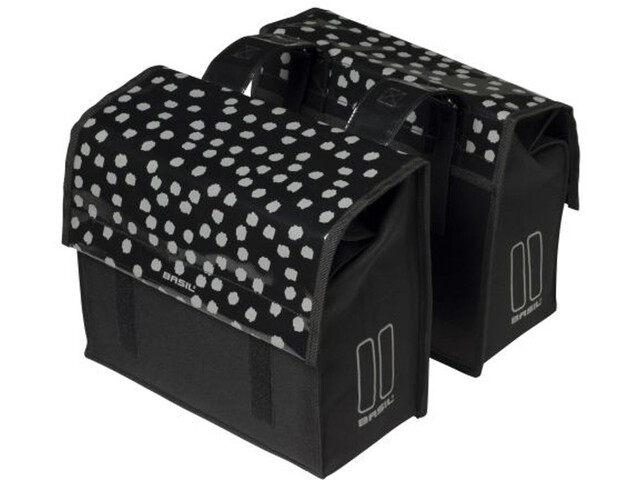 Basil Urban Load S Gepäckträger Tasche 25l black/reflective